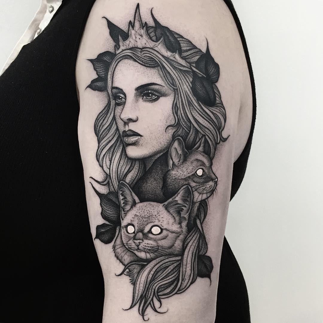 Tatuagem de Gatos - Freya