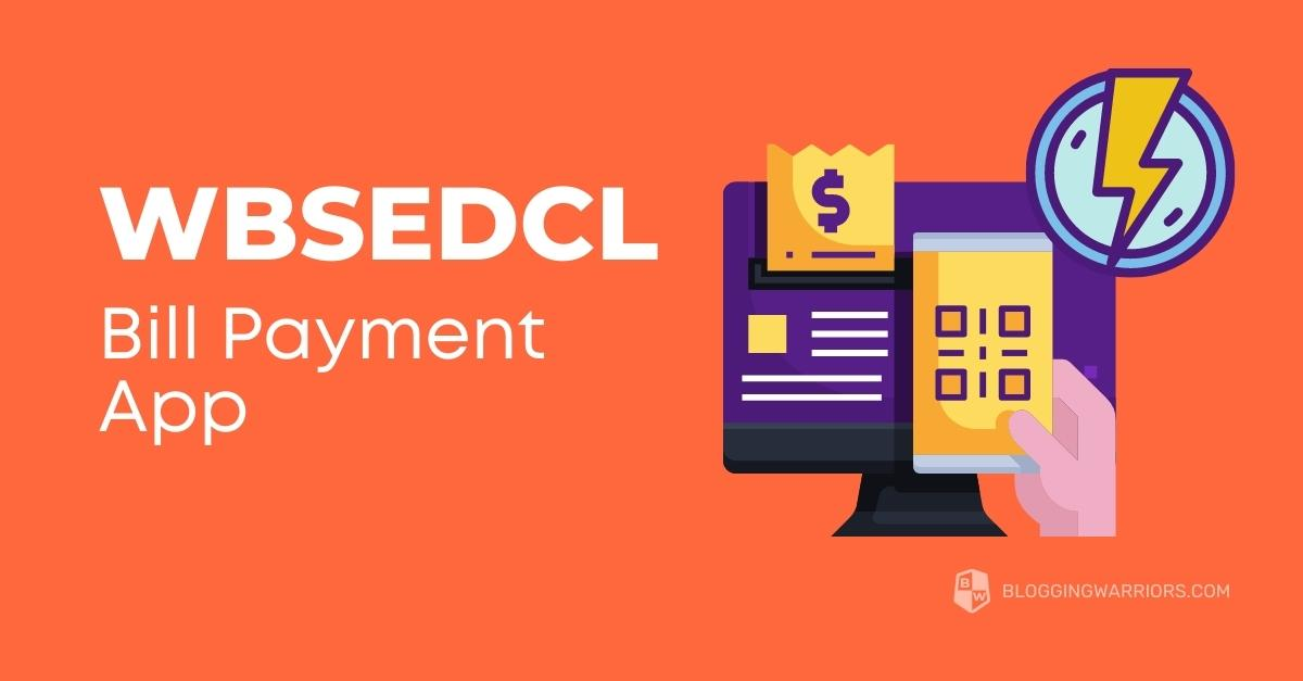 WBSEDCL Bill payment App
