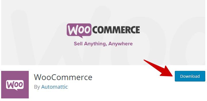 download woocommerce plugin