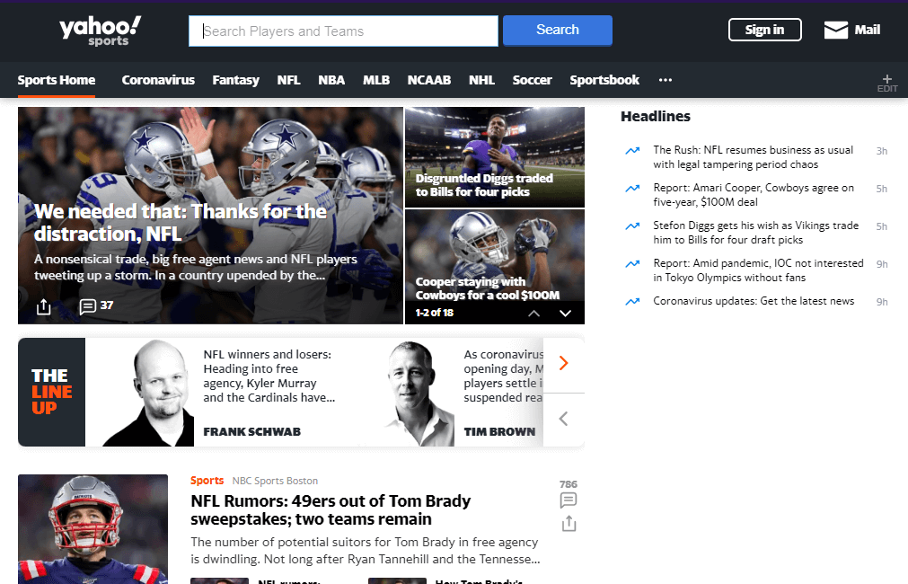 yahoo-sports-free-sports-streaming-sites