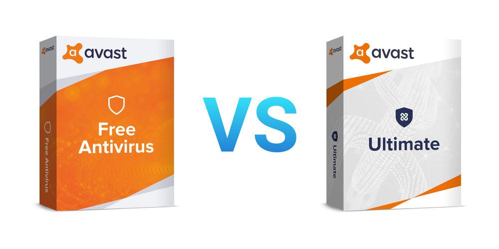 Avast Free Antivirus oder Avast Ultimate