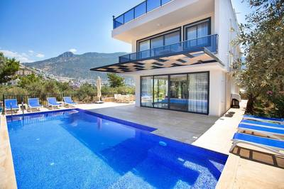 New Sea View Villa in Kalkan