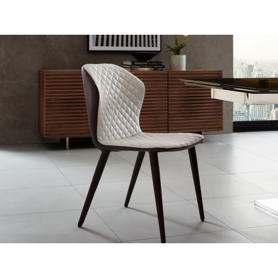 ✅ OLIVIA Dining Chair in Dark Brown PU-leather   BostonConcept.com   pic1