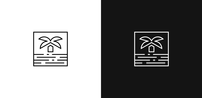 GLG symbol in black and white