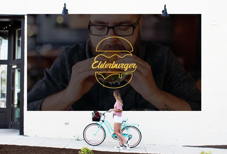elderburger advert