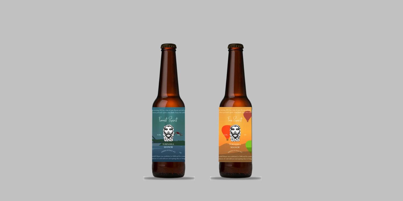 Tornhill Manor bottle packaging side by side