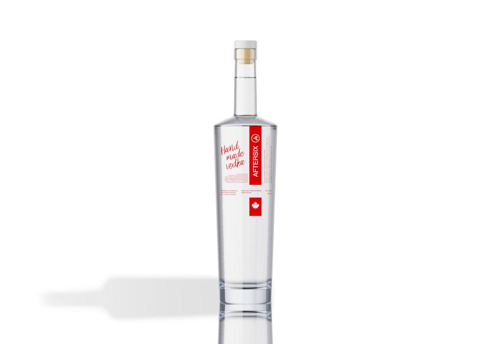 vodka packaging reflection