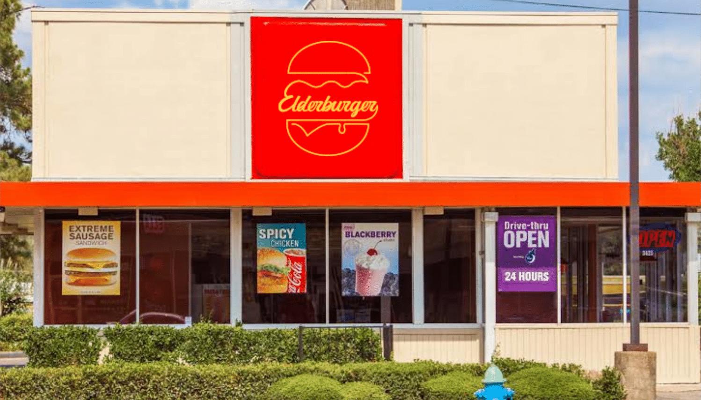 elderburger signage
