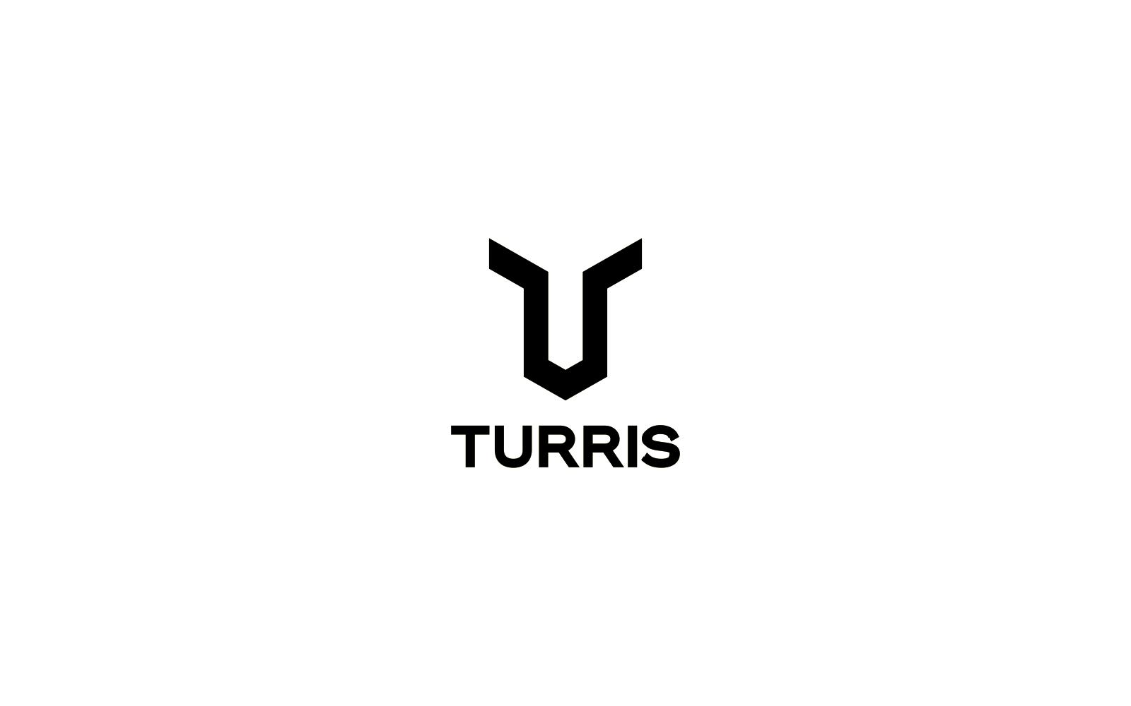 turris logo in black and white