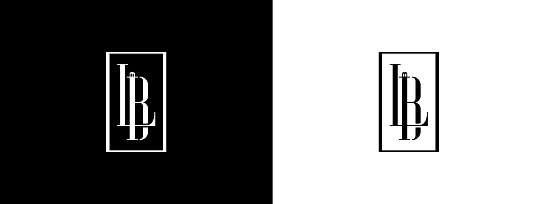 lbi symbol in black and white