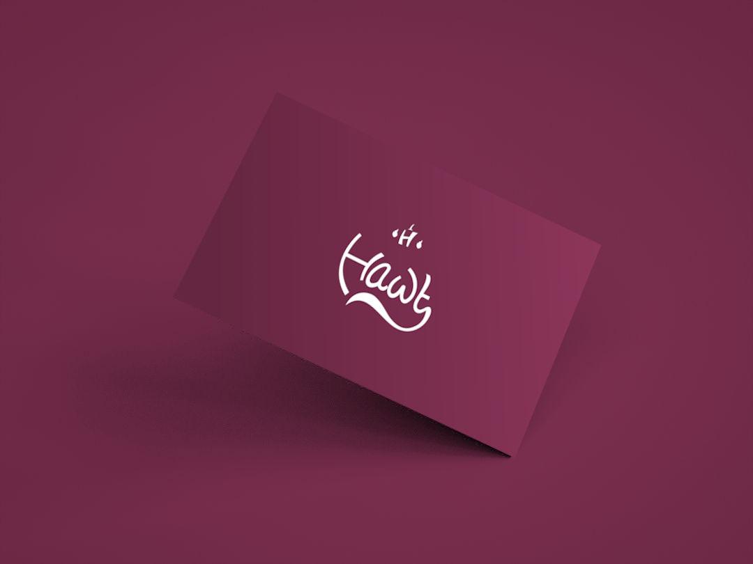 hawt business card