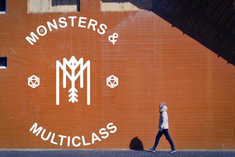 Monsters and multiclass wall mockup