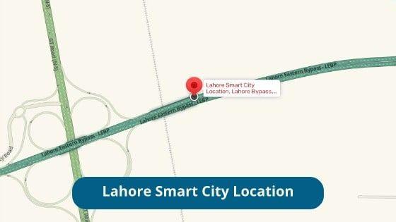 Lahore Smart City Location
