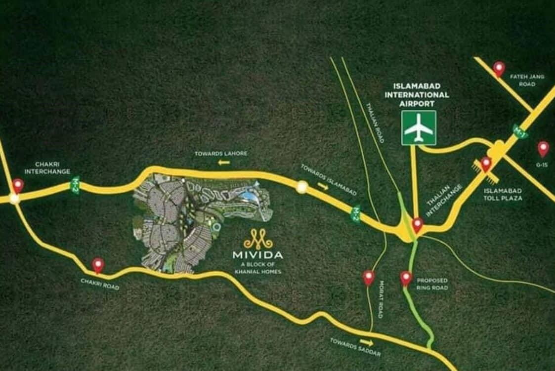 mivida city location