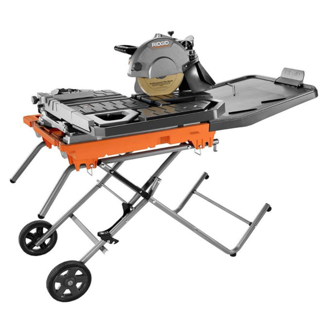 Ridgid Wet Tile Saw