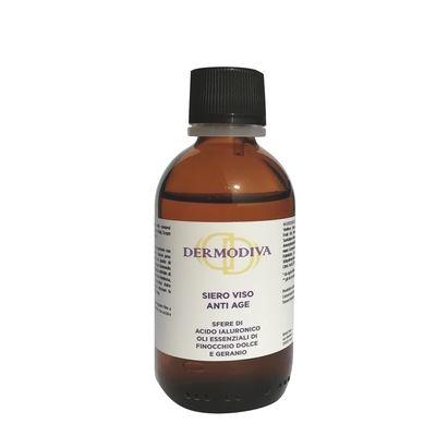 Dermodiva Siero viso anti age con sfere acido ialuronico e oli essenziali