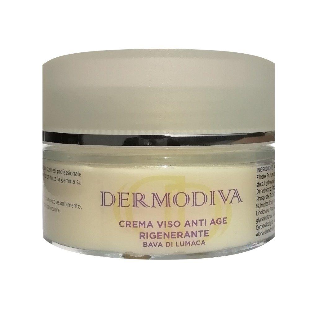 Dermodiva Crema viso anti age rigenerante bava di lumaca