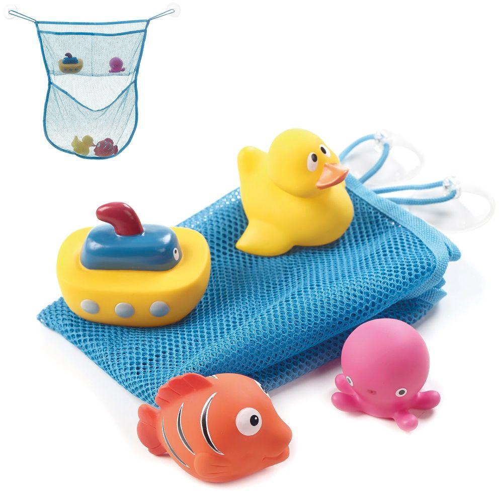Jane giochi da bagno con rete porta oggetti