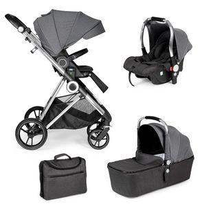 MS Mommy Plus trio 2021 900104 grigio elegante