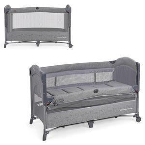 MS Oxford lettino culla co-sleeping 630405 grigio elegante