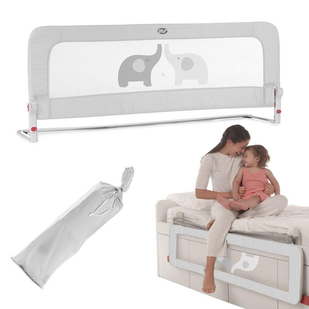 MS Spondina barriera letto sponda 150cm ribaltabile con snodo alto