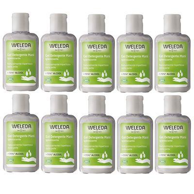 Weleda Gel detergente bio igienizzante mani 10x80ml