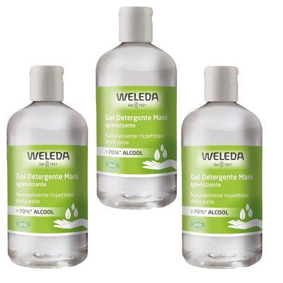 Weleda Gel detergente bio igienizzante mani 3x250ml