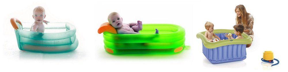 Vaschette gonfiabili neonato