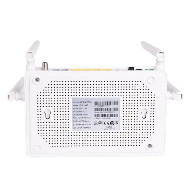 fttx modem gpon 5ghz 4 port onu price