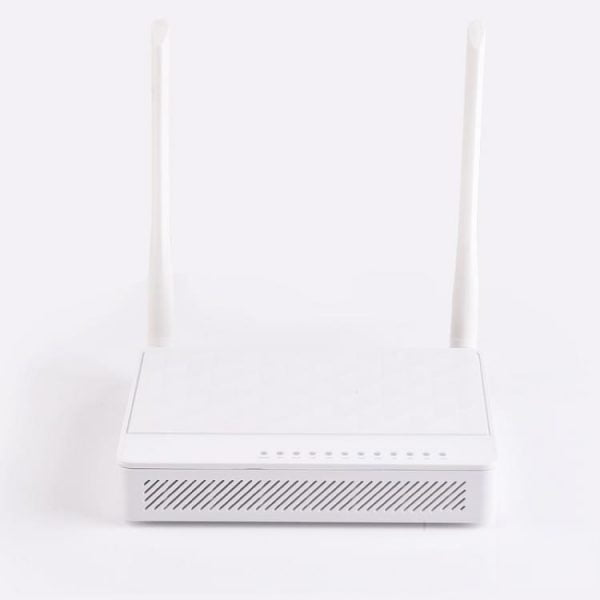 router with optical fiber port