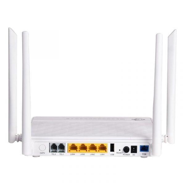 Fiber Optic Device Onu 2ge 2fe 2tel
