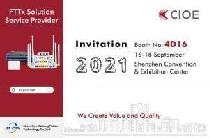 BT-PON CIOE2021 Invitation