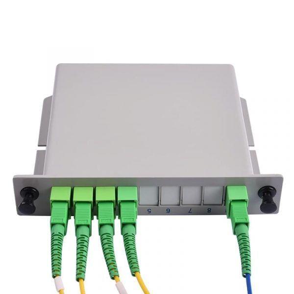 Plug-in box plc splitter