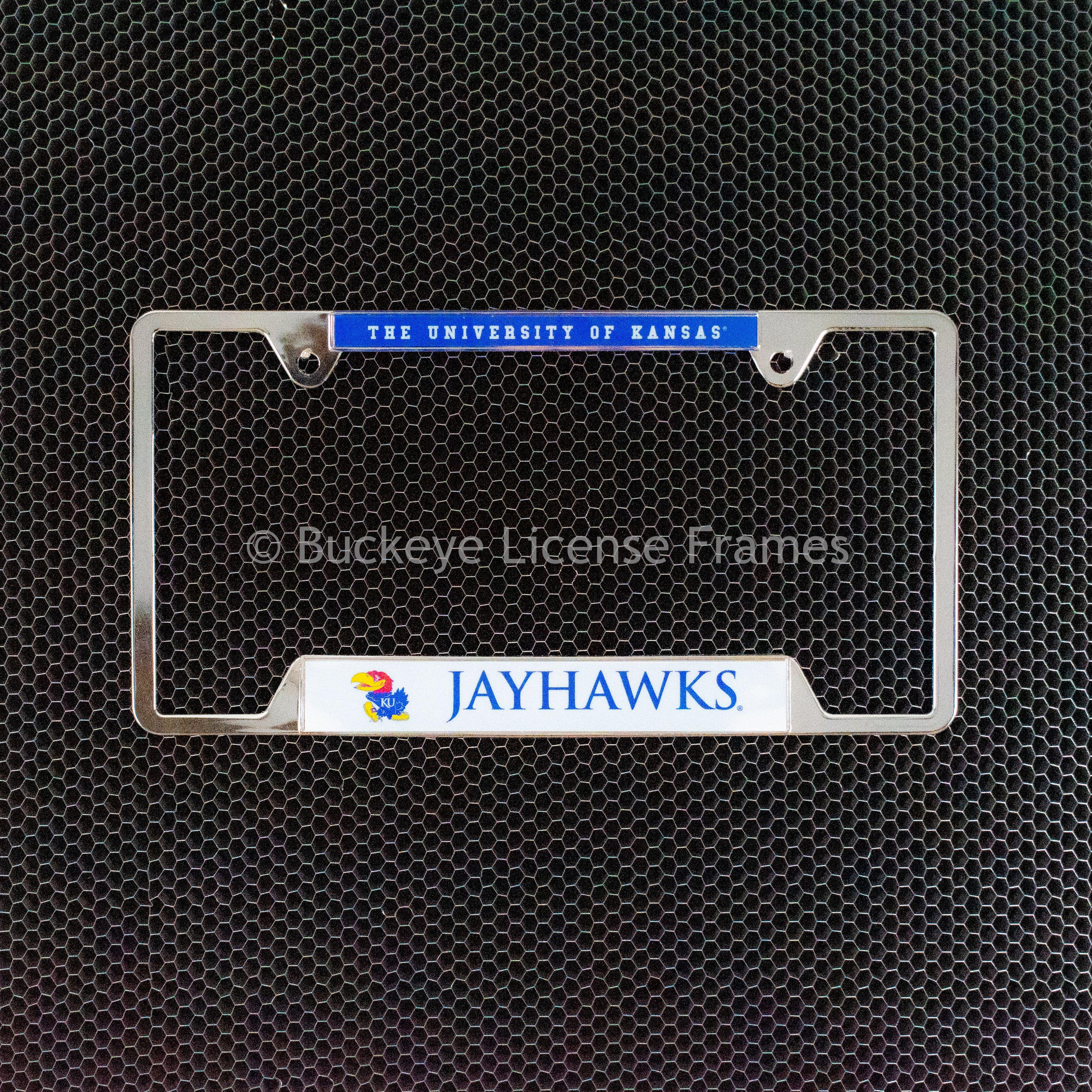 NFL San Francisco 49ers License Plate Frame Chrome Screw Covers