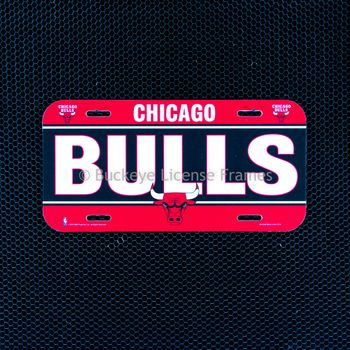 "Chicago ""BULLS"" Plastic License Plate"