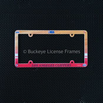 Los Angeles Clippers Full Color Plastic License Plate Frame