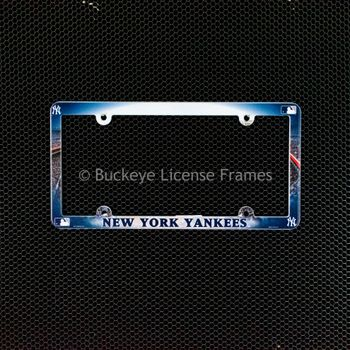 New York Yankees Full Color Plastic License Plate Frame