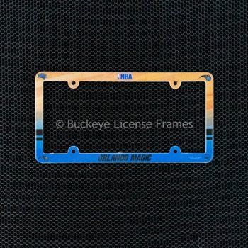 Orlando Magic Full Color Plastic License Plate Frame