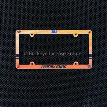 Phoenix Suns Full Color Plastic License Plate Frame