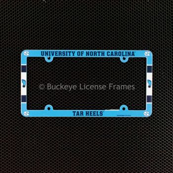 University of North Carolina Tar Heels Full Color Plastic W/ Feet