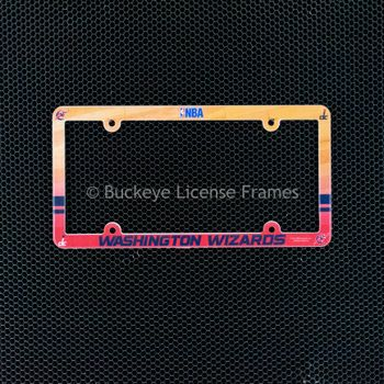 Washington Wizards Full Color Plastic License Plate Frame