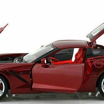 2014 Red Corvette Stingray 1/18 Maisto Collector Car