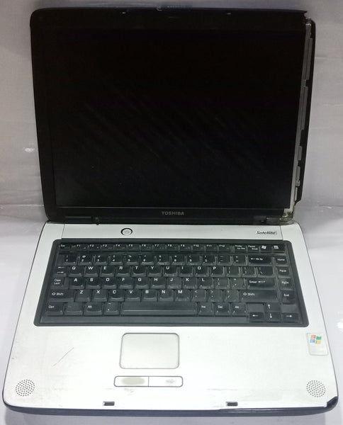 """Dead Toshiba Satellite ( PSA60U-0KM015) 14"""" 60GB HDD 256MB RAM Blue Laptop"""