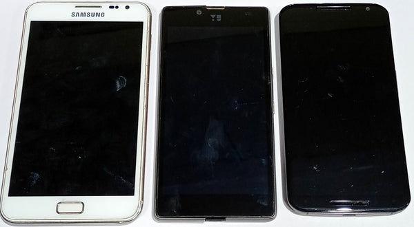 Buy Combo of Dead Samsung Galaxy Note(N7000) + Yu Yuphoria And Motorola Moto X 2nd Gen Mobiles