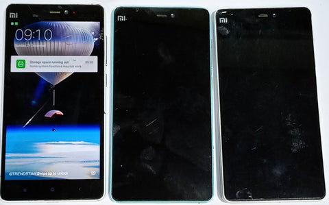 Buy Combo of Used 3 Xiaomi Mi 4i Mobiles