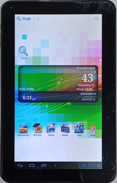 """Buy Micromax Funbook Pro 10.1"""" 8GB 1GB RAM Wi Fi Silver (Good condition)"""
