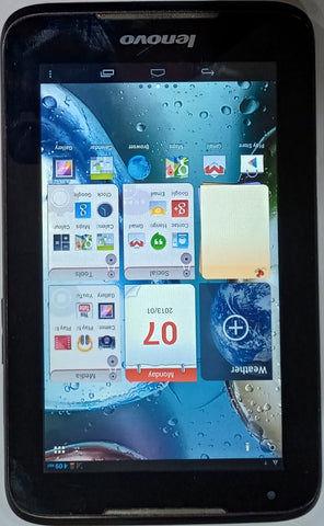Buy Used Lenovo Ideatab A1000G Wi Fi+2GB 4GB Black Tablet