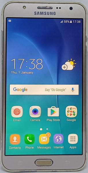 Buy Refurbished Samsung Galaxy J7 SM-J700F (2015) 16GB 1.5GB RAM Gold