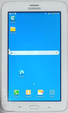 Buy Used Samsung Galaxy TAB 3 NEO (SM-T111)  WiFi+3G 8GB 1GB RAM White