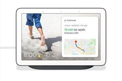 Buy New Google Nest Hub with Google Assistant Smart Speaker Charcoal (Sealed Box)